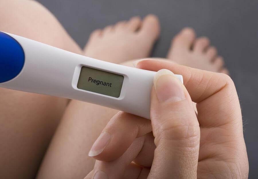 Schwangerschaftstest: Hoffentlich ist der Test positiv