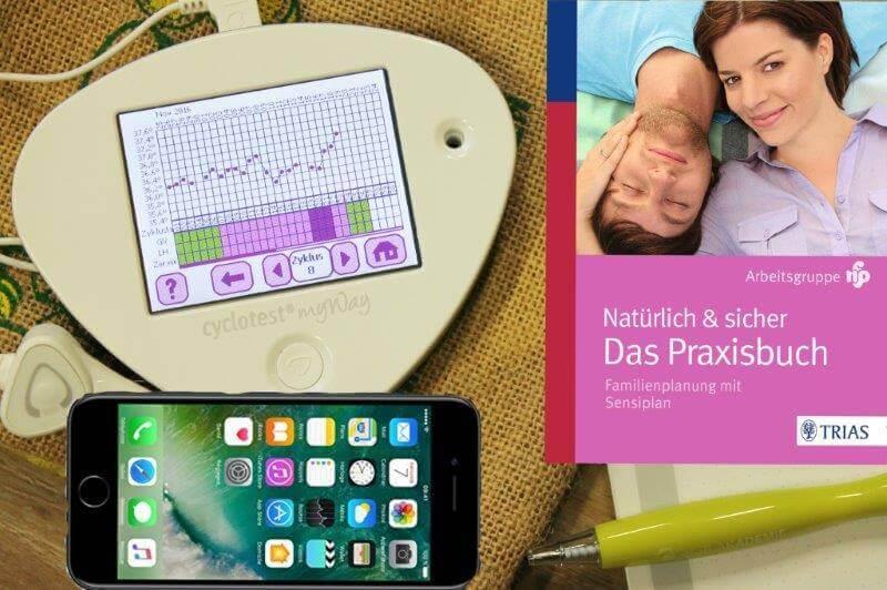 Kinderwunsch Starter Set Kinderwunsch Buch Basalthermometer Kinderwunsch Computer Kinderwunsch App