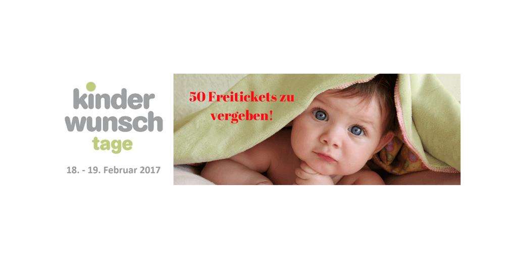 Kinderwunsch Tage: 50 Freitickets zu vergeben