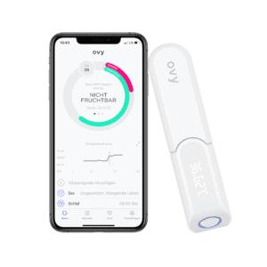 Ovy Bluetooth Basalthermometer