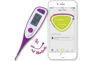 cyclotest mySense Bluetooth Basalthermometer & App