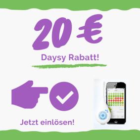 Daysy Rabatt Code 20 Euro